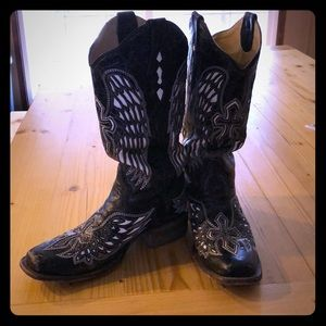Vintage Corral Square Toe Boots